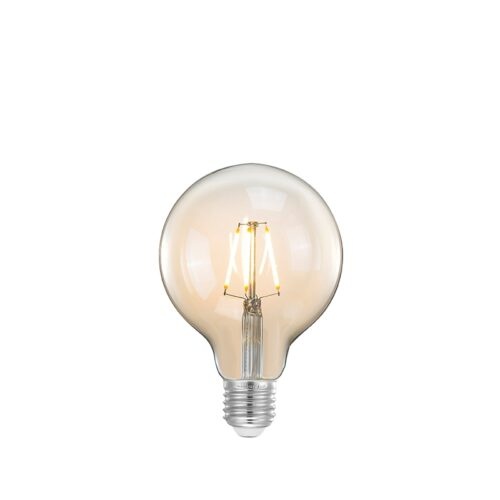 LABEL51 Lichtbron Led Kooldraadlamp Bol - Glas - L