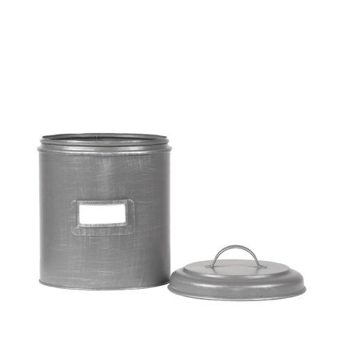 LABEL51 Opbergblik Opbergblik - Antiek grijs - Metaal - XL