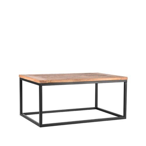 LABEL51 Salontafel Box - Rough - Mangohout - 100x65 cm