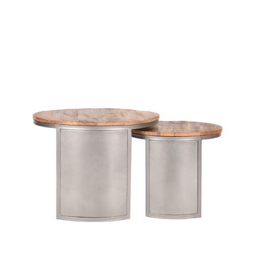 LABEL51 Coffee Table Set Bunch - Rough - Mangohout