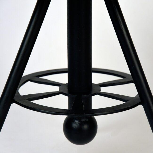LABEL51 Salontafel Solid - Rough - Mangohout - Rond - 60 cm - AP-13.035