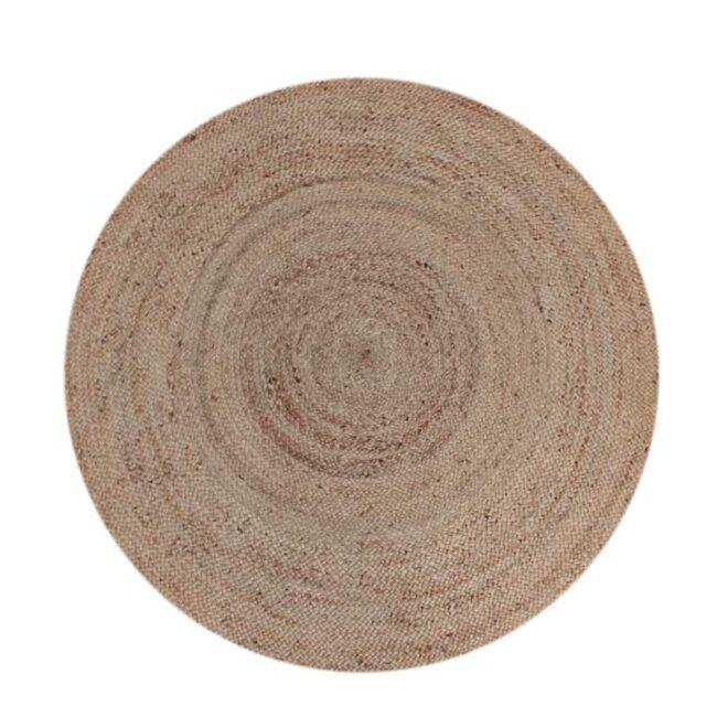 LABEL51 Vloerkleed Jute - Naturel - Jute - 150x150 cm