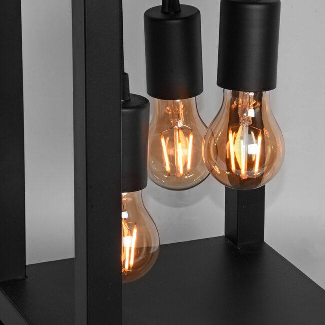LABEL51 Tafellamp Dangle - Zwart - Metaal - MT-2236