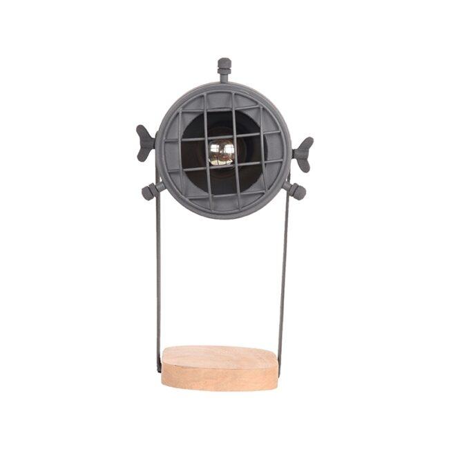 LABEL51 Tafellamp Grid - Grijs - Metaal - YS-22.108