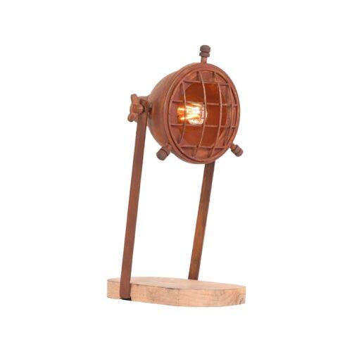 LABEL51 Tafellamp Grid - Rust - Metaal