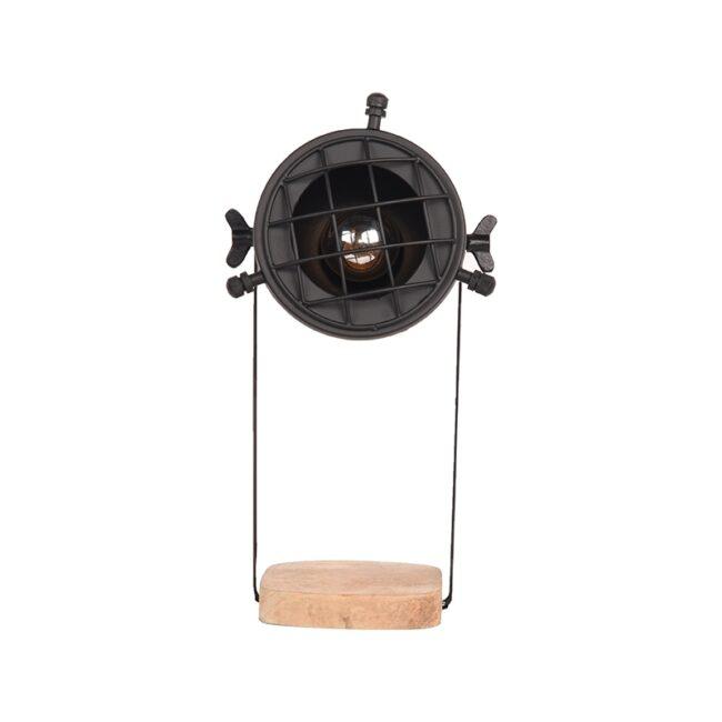 LABEL51 Tafellamp Grid - Zwart - Metaal - YS-22.110