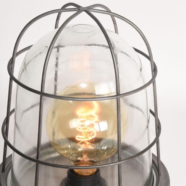 LABEL51 Tafellamp Seal - Burned Steel - Metaal - MT-2184