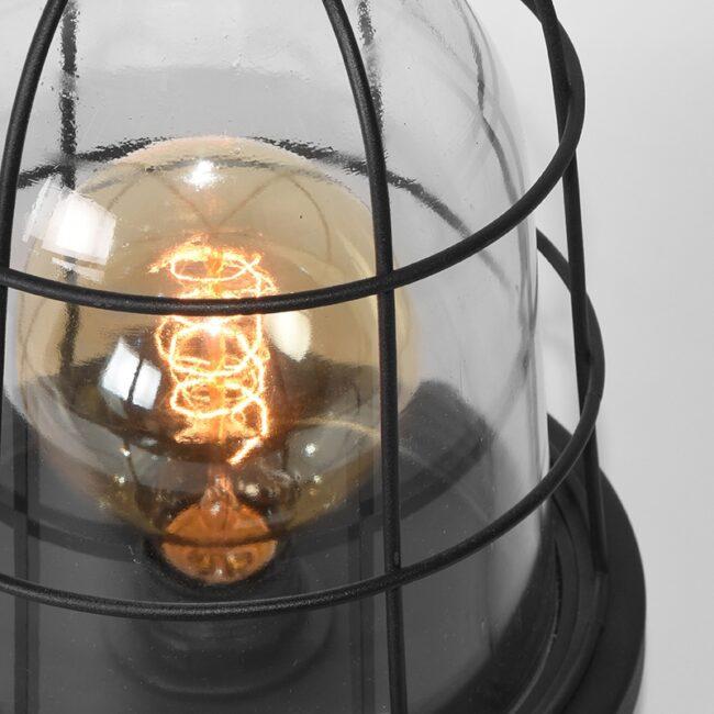 LABEL51 Tafellamp Seal - Zwart - Metaal - MT-2183