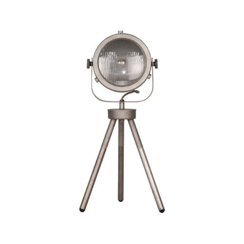 LABEL51 Tafellamp Tuk-Tuk - Grijs - Metaal