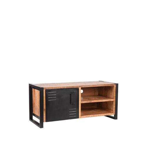 LABEL51 Tv-meubel Bruxelles - Rugueux - Mangohout - 115 cm