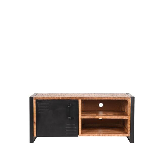 LABEL51 Tv-meubel Brussels - Rough - Mangohout - 115 cm - RF-37.038/JP-46.063