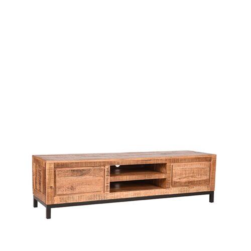 LABEL51 Tv-meubel Gand - Rugueux - Mangohout - 160 cm