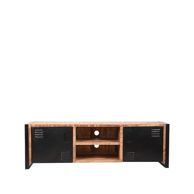 LABEL51 Tv-meubel Brussels - Naturel - Mangohout - 160 cm - RF-37.012/JP-46.062