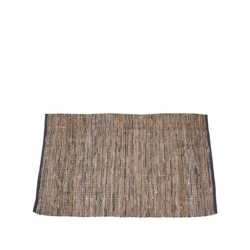 LABEL51 Vloerkleed Brisk - Antraciet - Natuurlijk materiaal - 230x160 cm