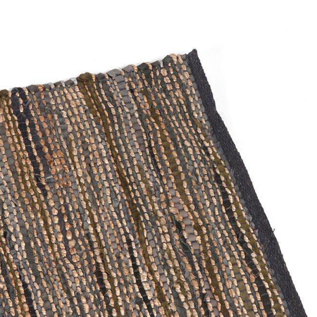 LABEL51 Vloerkleed Brisk - Antraciet - Natuurlijk materiaal - 160x230 Cm - SH-24.039