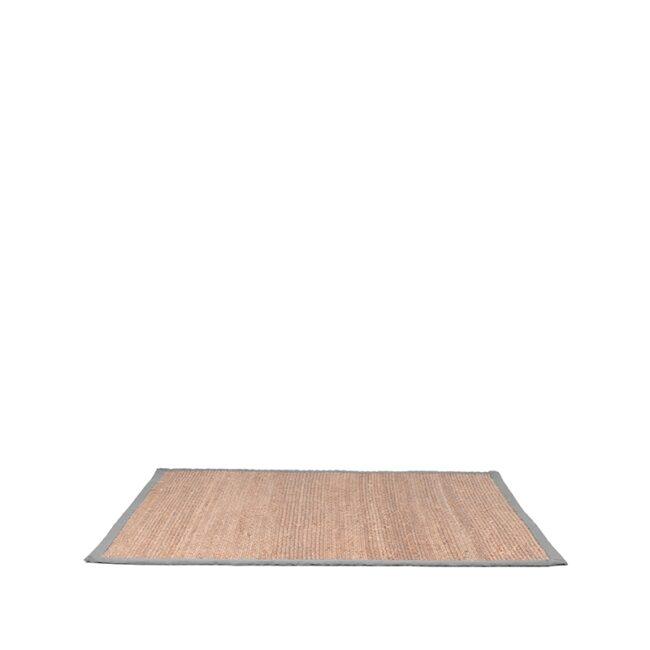 LABEL51 Vloerkleed Jute - Grijs - Jute - 230x160 Cm