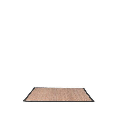 LABEL51 Vloerkleed Jute - Zwart - Jute - 160x140 Cm
