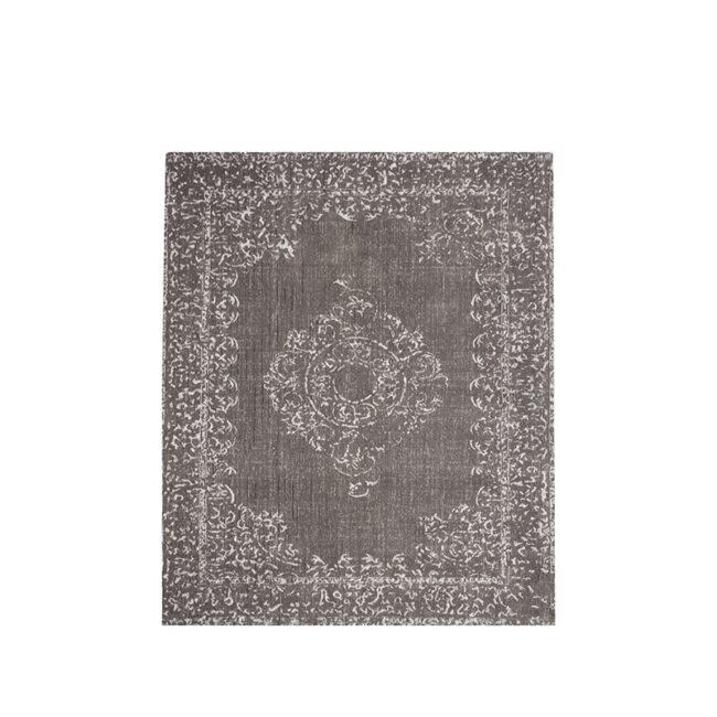 LABEL51 Vloerkleed Vintage - Grijs - Katoen - 140x160 cm