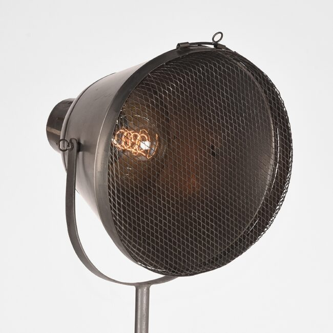 LABEL51 Vloerlamp Gaas - Grijs - Metaal - SE-23.009