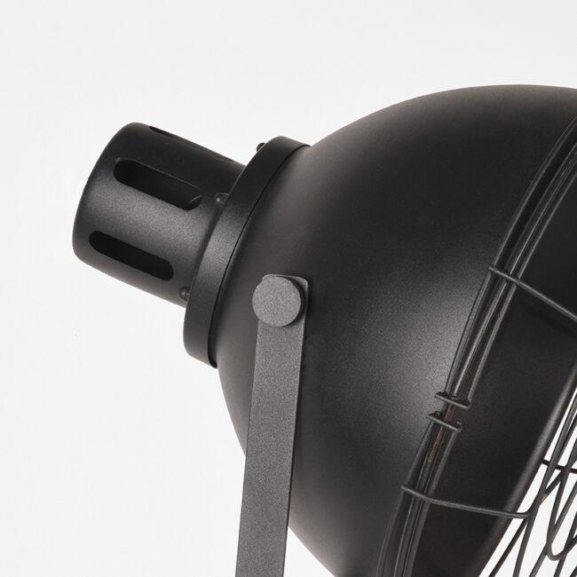 LABEL51 Vloerlamp Max - Zwart - Metaal - MT-2161