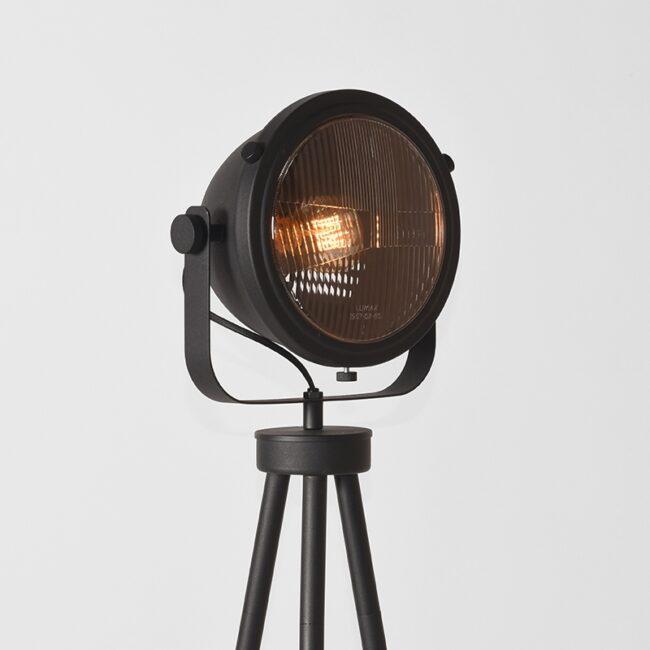 LABEL51 Vloerlamp Tuk-Tuk - Zwart - Metaal - MT-2227