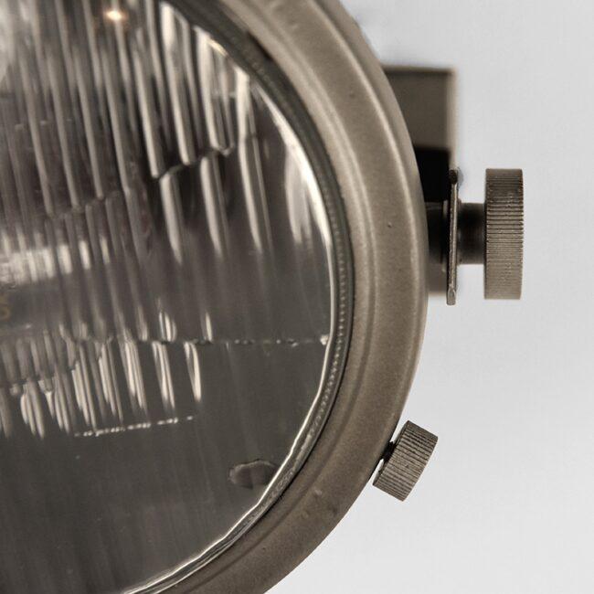 LABEL51 Wandlamp Tuk-Tuk - Grijs - Metaal - MT-2198