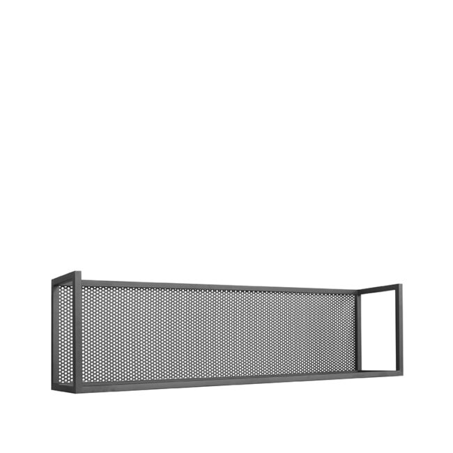 LABEL51 Wanddecoratie Motif Wandrek - Zwart - Metaal - XL
