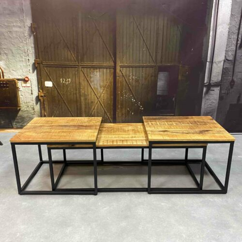 Coffeetable 6571 Iron Mango