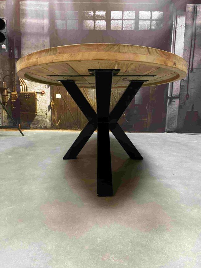 Eettafel Acaciahout - Ovaal 200 cm - WGXL Collection