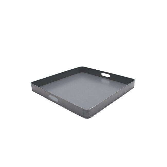 LABEL51  Dienblad - Grijs - Metaal - L