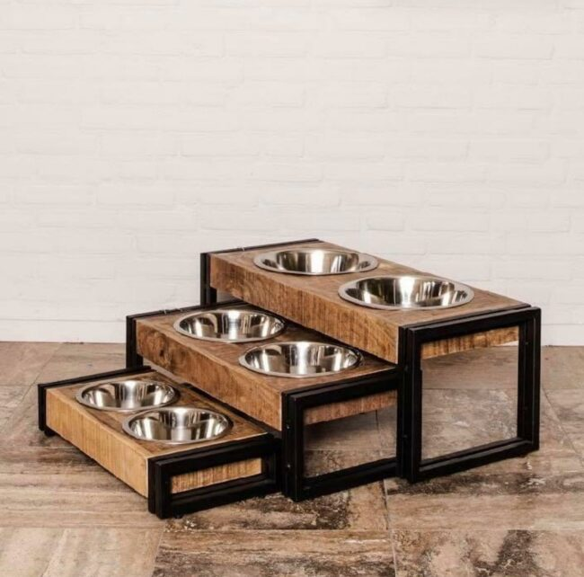 Hondenbak - Mangohout - Klein - Middel - Groot - WGXL Collection - WiegersXL