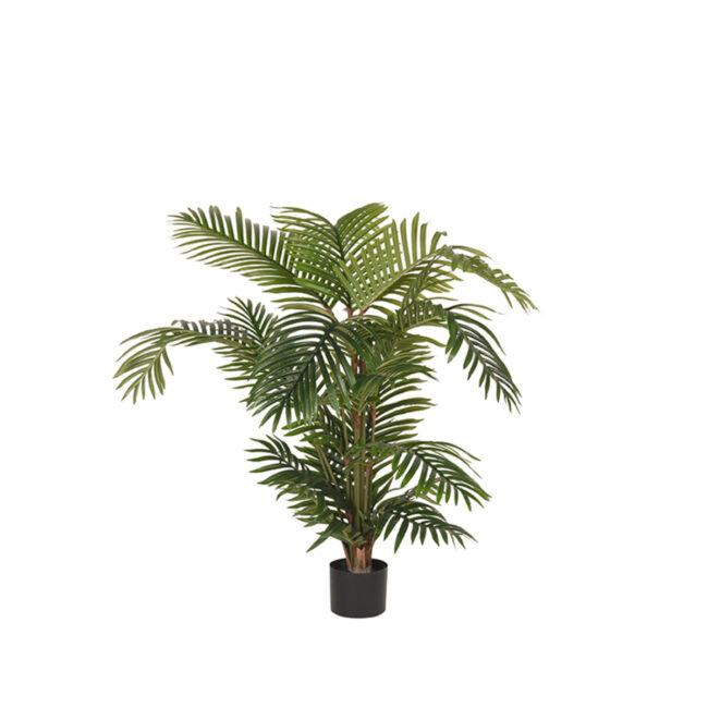 LABEL51 Artificial Plants Areca Palm - Groen - Kunststof - 110 - DS-54.002