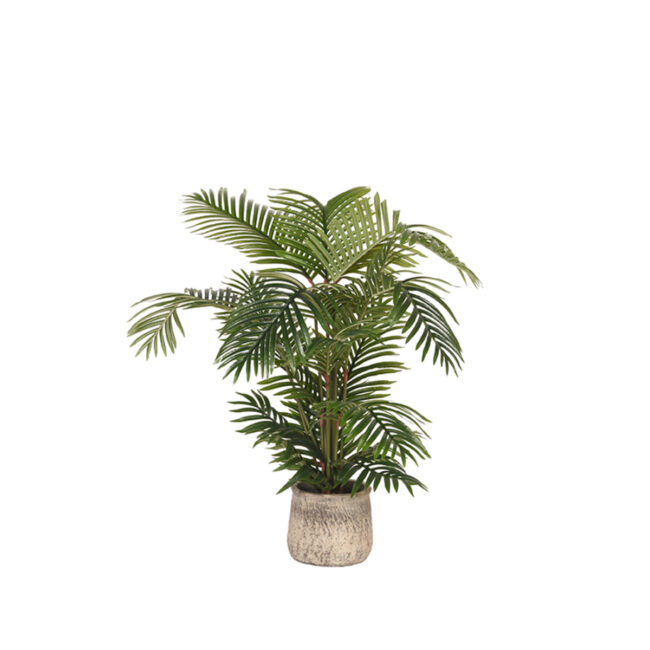 LABEL51  Artificial Plants Areca Palm - Groen - Kunststof - 110