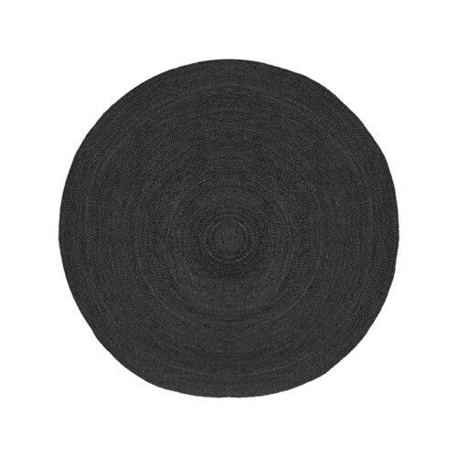 LABEL51 Vloerkleed Jute - Zwart - Jute - 150
