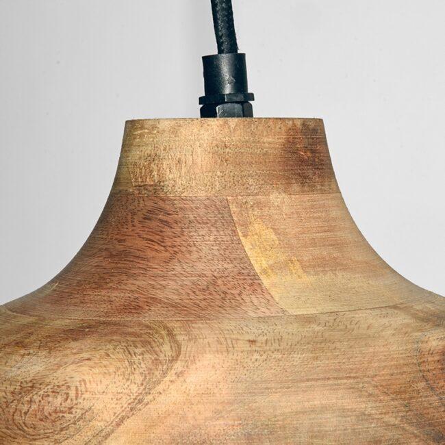 LABEL51 Hanglamp Finn - Hout - Hout - YS-22.099