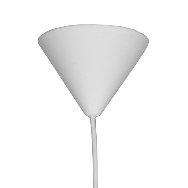 LABEL51 Hanglamp Twist - Wit - Vlas - XL - QP-4021