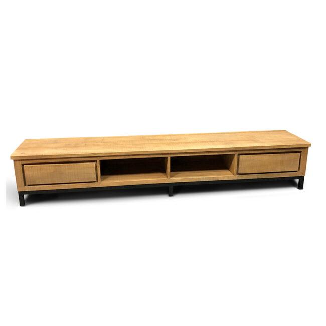 tv meubel lola teakhout groot