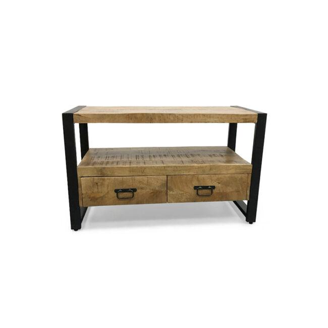 TV meubel Paul Mangohout met laden | Industrieel | Wiegers XL