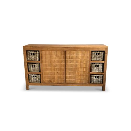 washbasin furniture melang teak wood