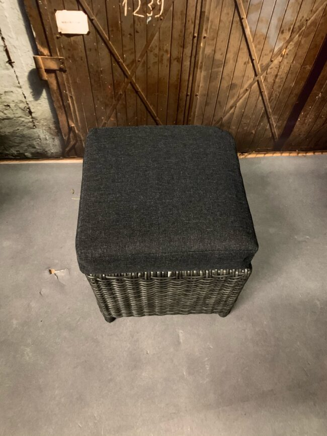 Hocker Austin WGXL Collection - donker grijs - WiegersXL