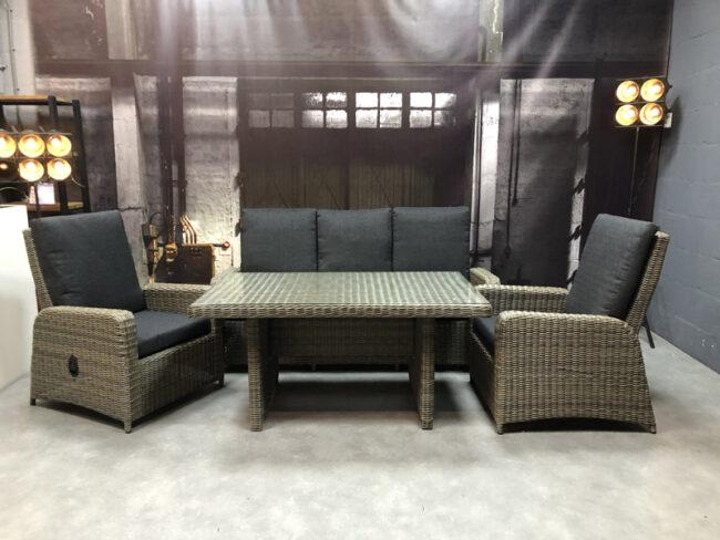 loungeset oldham grijs