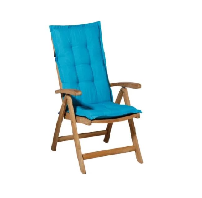 Tuinkussen Panama Aqua – Hoge rug incl stoel