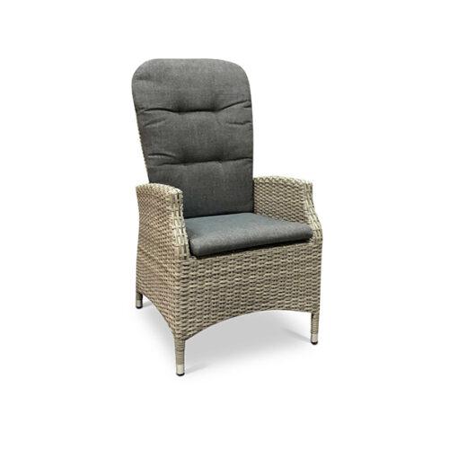 Tuinstoel Soho Comfort Brick Lesli Living - wicker grijs