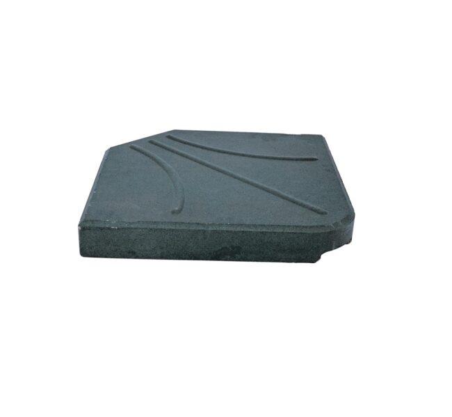 Betontegel Parasolvoet Kruispoot Metaal 25 kilo - WiegersXL