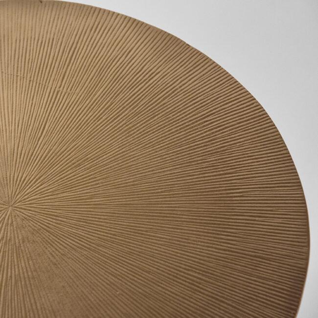 LABEL51 Bijzettafel Nobby - Antiek goud - Metaal - 40 cm - IV-52.023