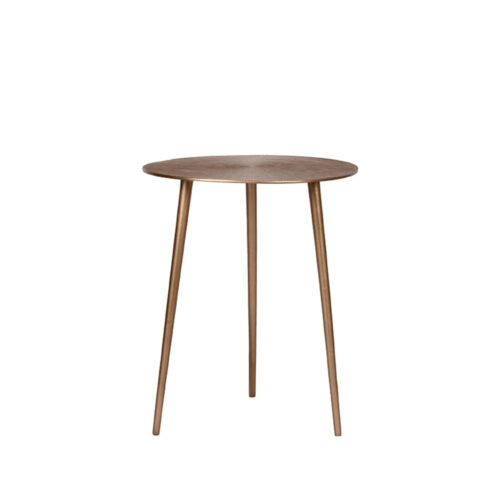 LABEL51 Side table Nobby - Antique gold - Metal - 40 cm