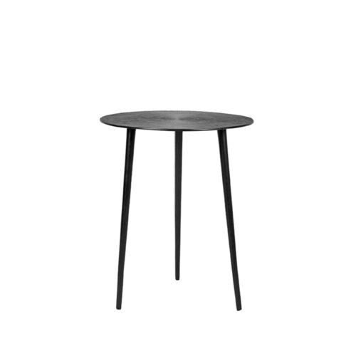 LABEL51 Side table Nobby - Black - Metal - 40 cm