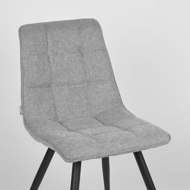 LABEL51 Eetkamerstoel Jelt - Zinc - Weave - UK-30.317