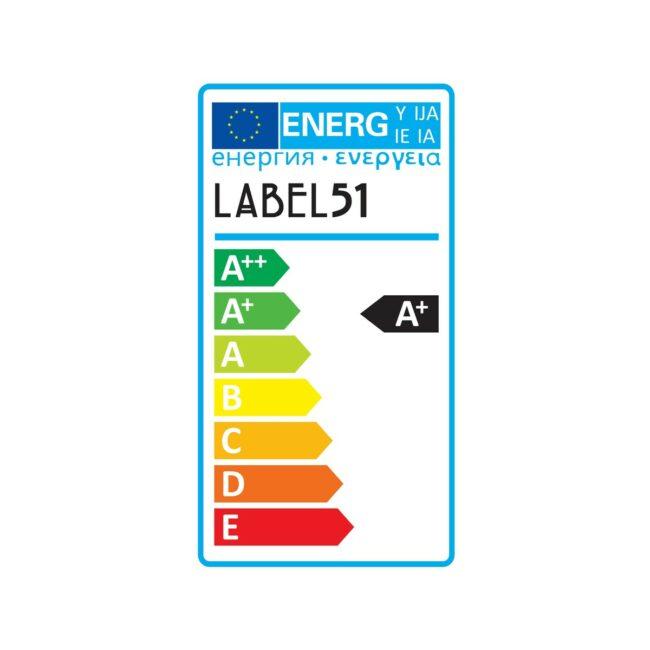LABEL51 Spot Moto led - Zwart - Metaal - 2 Lichts - MT-2192