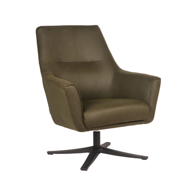 LABEL51 Fauteuil Tod - Army green - Microfiber